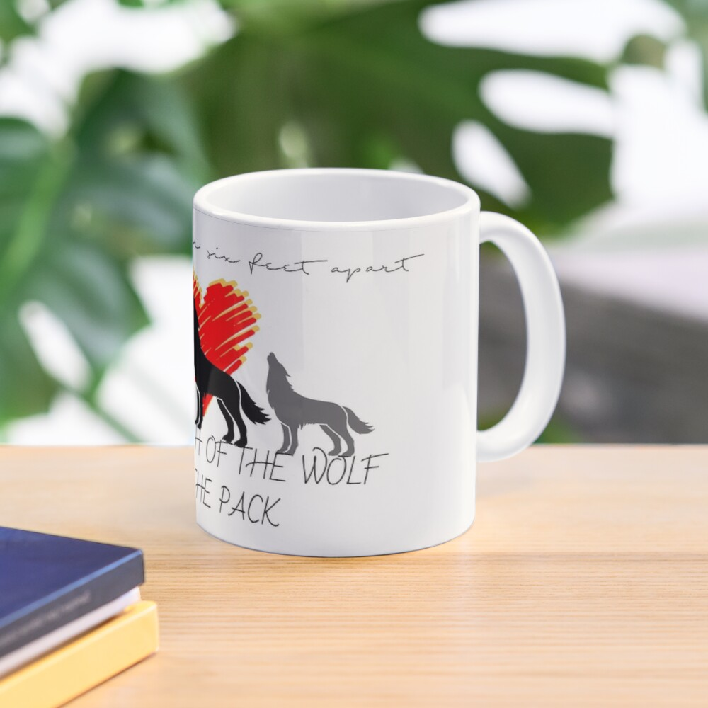 The Strength of the Wolf Mug