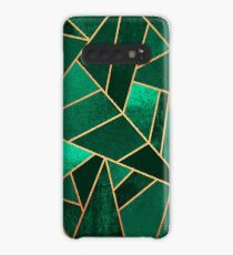 Emerald and Copper Case/Skin for Samsung Galaxy