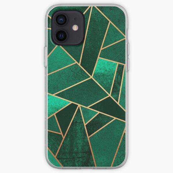 Emerald and Copper iPhone Soft Case
