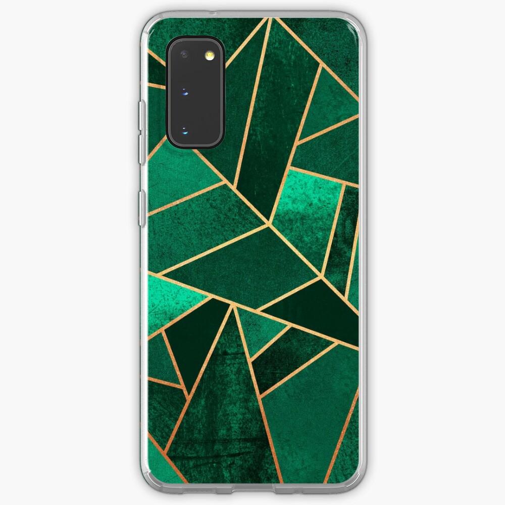 Emerald and Copper Case & Skin for Samsung Galaxy