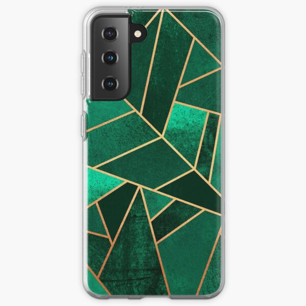 Emerald and Copper Samsung Galaxy Soft Case