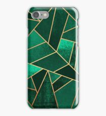Emerald and Copper iPhone Case/Skin