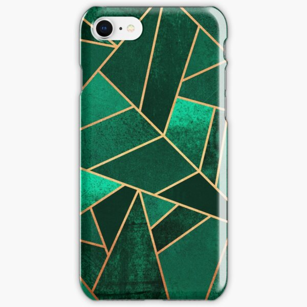 Emerald and Copper iPhone Snap Case