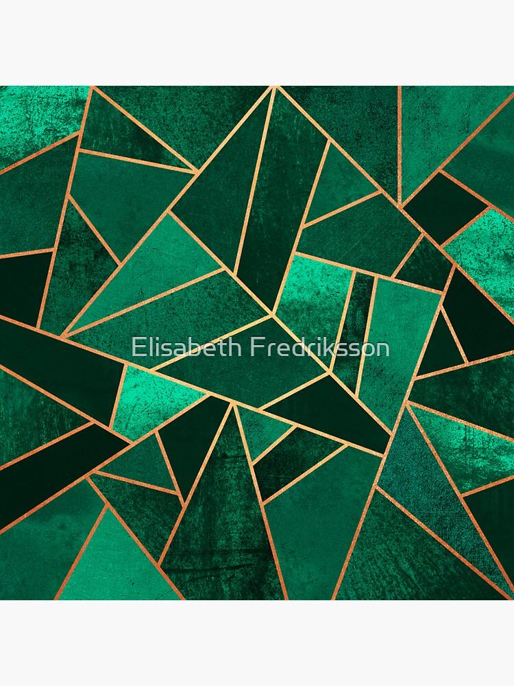 Smaragd und Kupfer von foto-ella