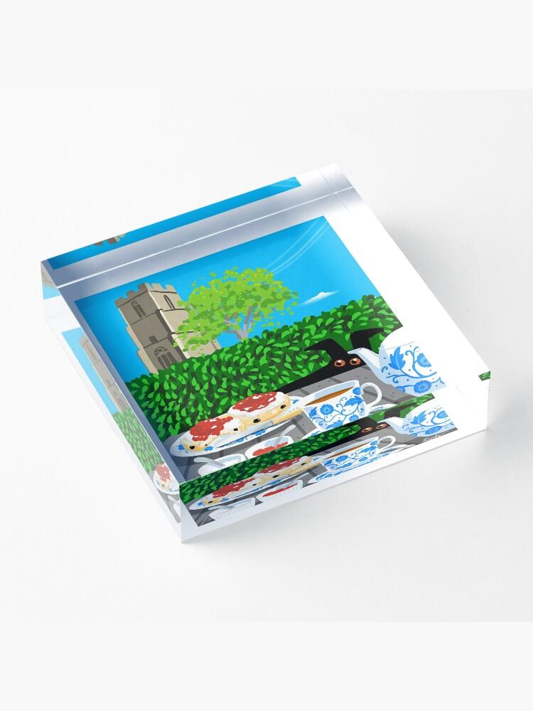 Alternate view of Cream Tea Acrylic Block