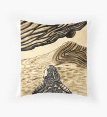 Escaping Arrakis  Throw Pillow