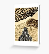 Escaping Arrakis  Greeting Card