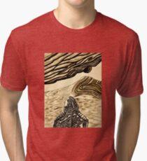 Escaping Arrakis  Tri-blend T-Shirt