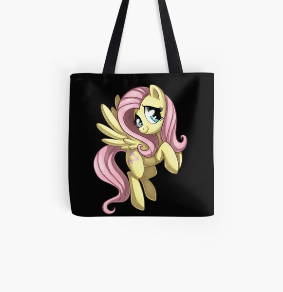 MLP: Fluttershy All Over Print Tote Bag