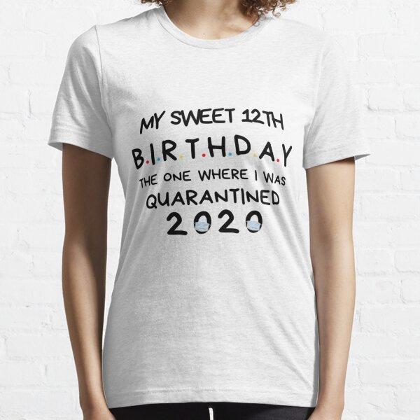 12th Anniversaire Lockdown Kids T-Shirt Cadeau D/'Anniversaire Drôle légende de douze ans Cool