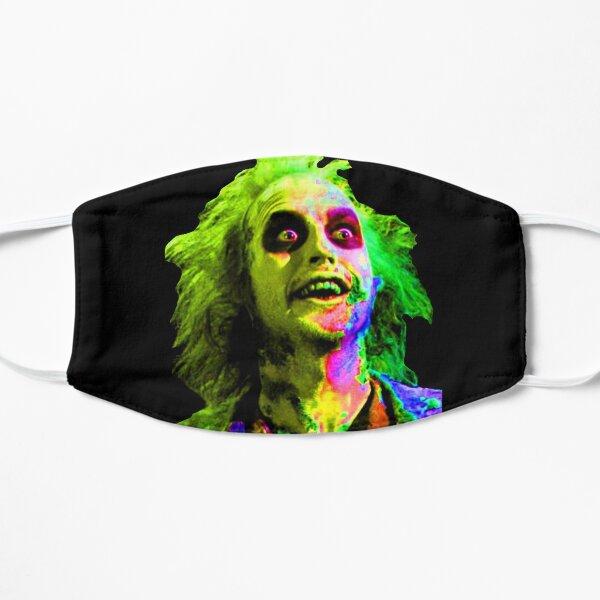 psychedelic beetlejuice beetlejuice beetlejuice Flat Mask