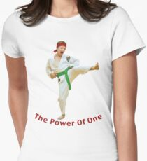 The Power of One Women's Fitted T-Shirt