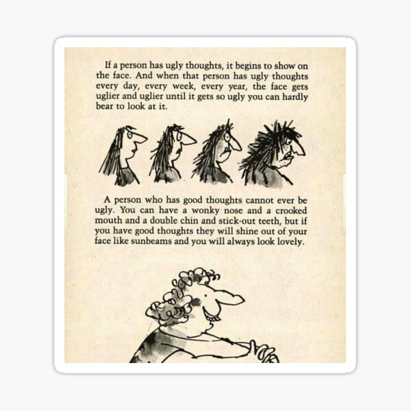 Roald Dahl the twits  Sticker