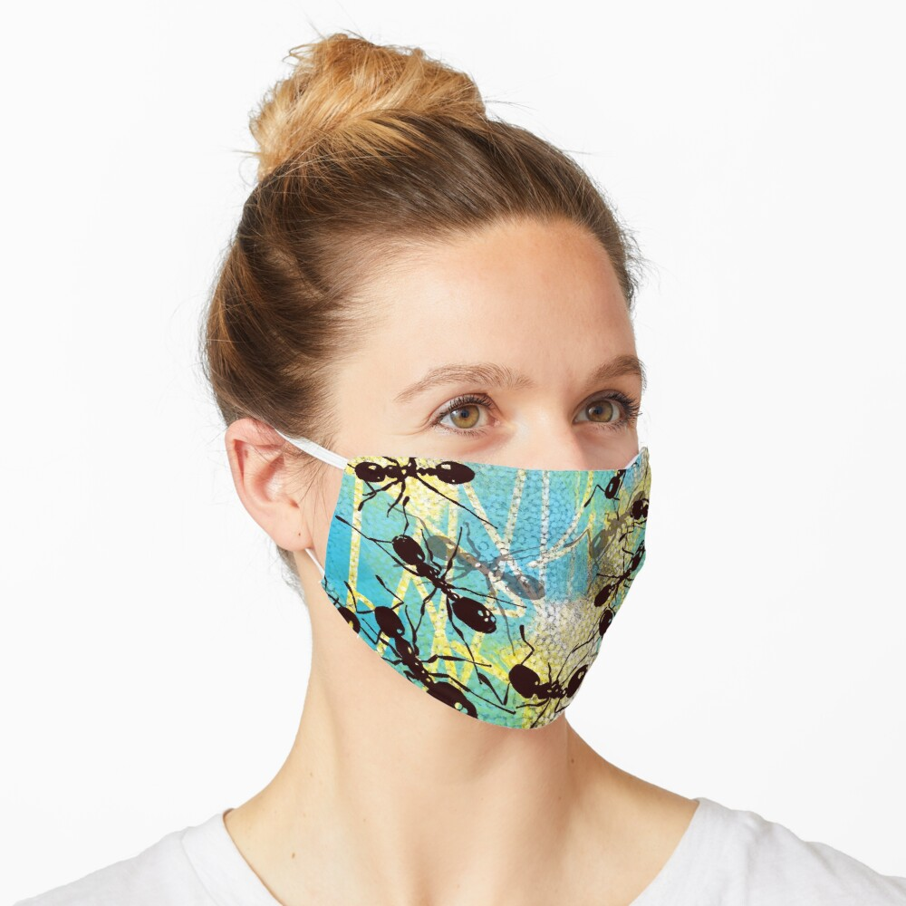 Busy, busy, busy Mask