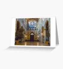 Sanctuary of Santa Maria della Steccata, Parma, Italy Greeting Card