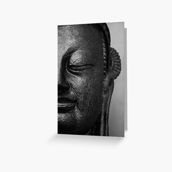 Buddha in bliss Greeting Card