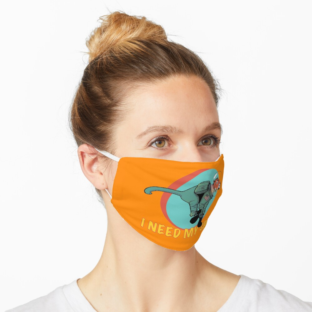I Need My Space Mask