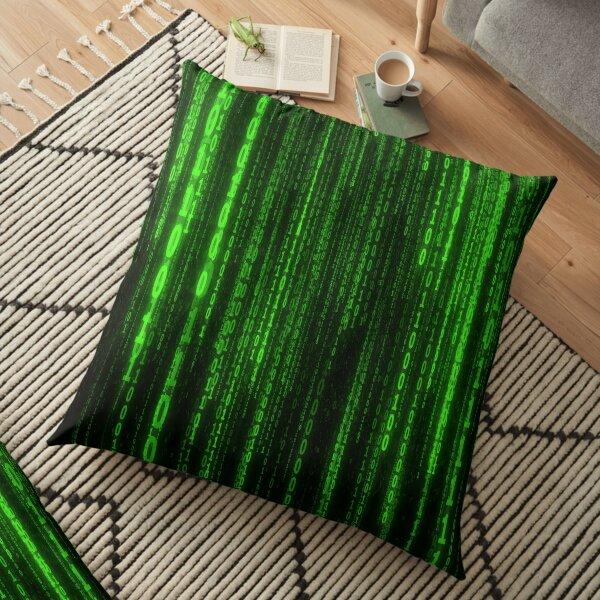the code Floor Pillow