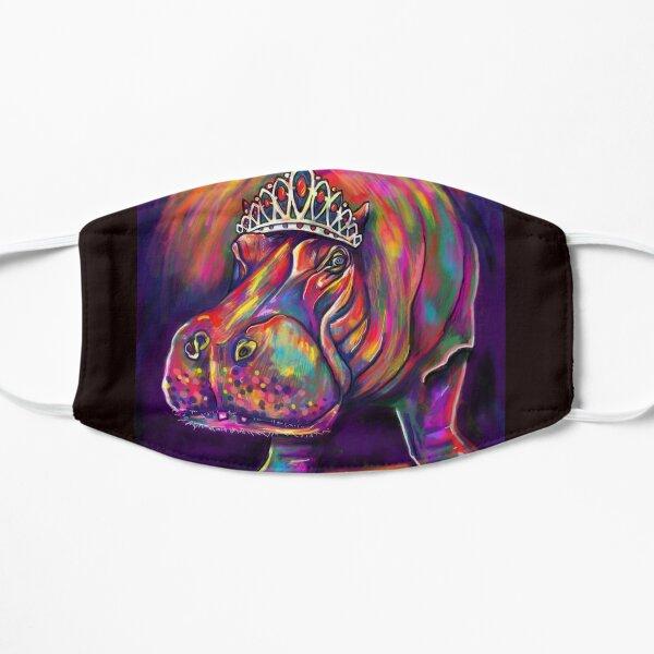 Hippo in Tiara Flat Mask