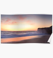 Table Rock sunset Poster