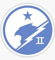 Blue Team Insignia Sticker