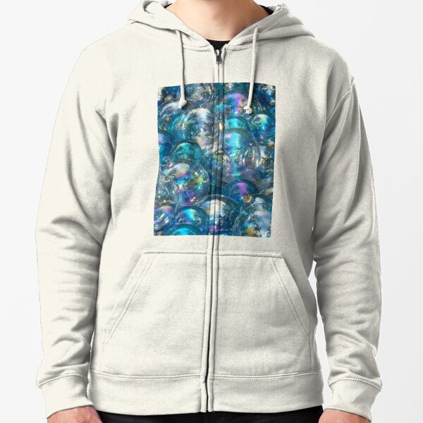 Bubbles Zipped Hoodie