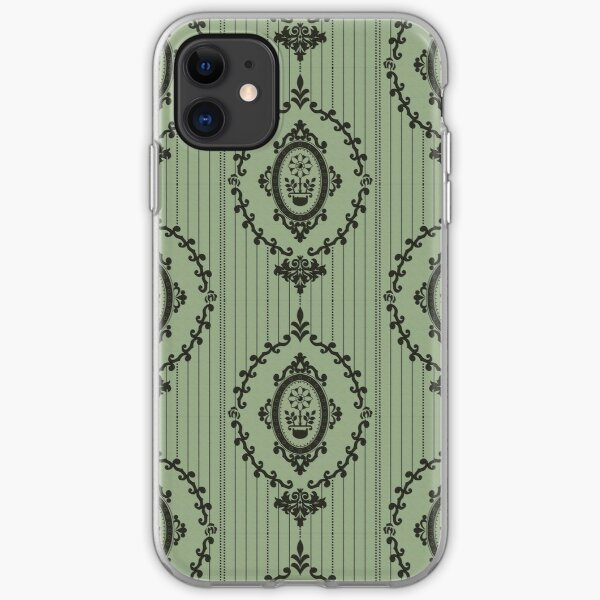 Baroque Wallpaper in Cartoon 2 iPhone Soft Case