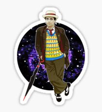 The 7th Doctor - Sylvester McCoy Sticker