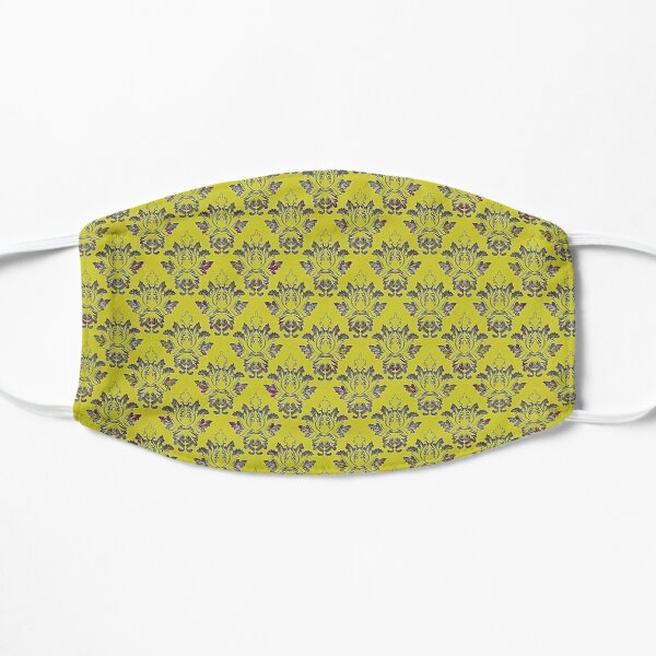 Victorian Chartreuse Mask