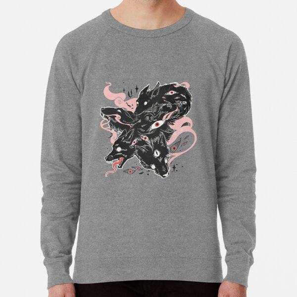Wild Wolves With Many Eyes Lightweight Sweatshirt