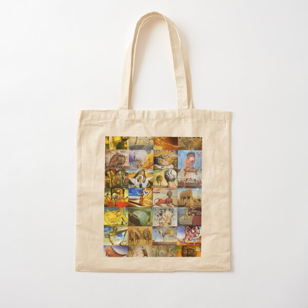 Salvador Dali Cotton Tote Bag