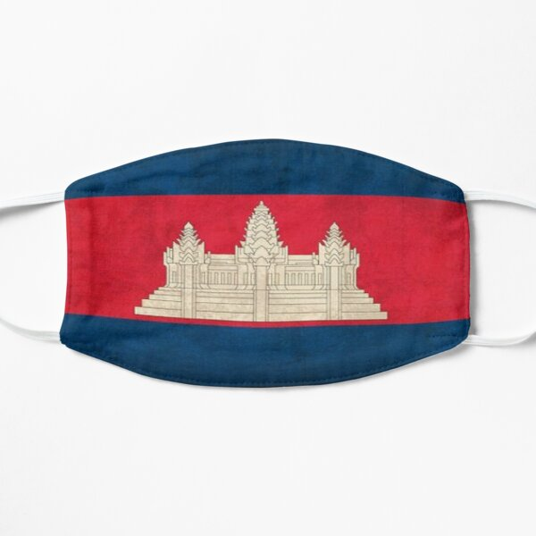 Cambodia T-shirt vintage Cambodia Flag For Men/Women/Youth/Kid Mask