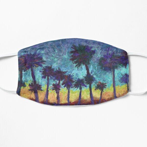 Palm Tree Painting Flat Mask