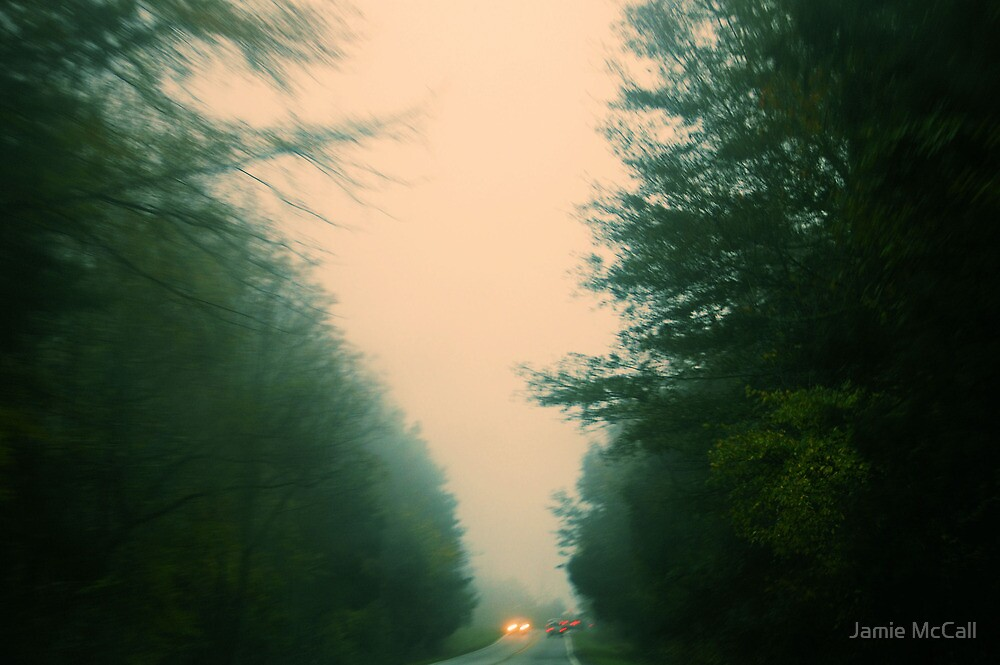 here comes the fog 4 by Jamie McCall