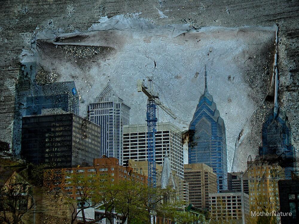 Philadelphia Skyline by MotherNature