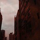 Tall Red Buildings by FeeBeeDee