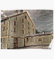 Barn at the Eisenhower Farm, National Historic Landmark, outside of Gettysburg PA Poster