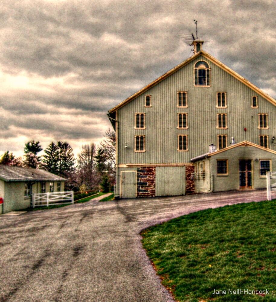 """""""Barn, Eisenhower Farm, National Historic Landmark"""