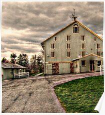 Barn, Eisenhower Farm, National Historic Landmark, Gettysburg PA Poster