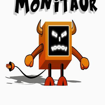 Monitaur by Supaflysamurai