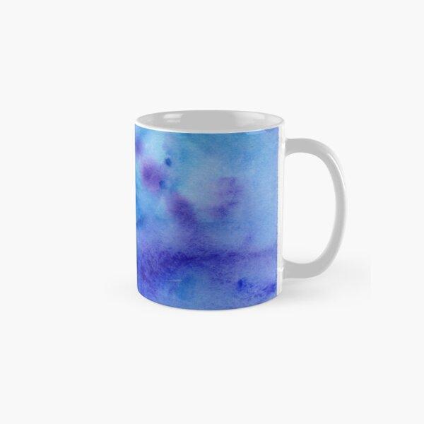 Blue Watercolor Classic Mug