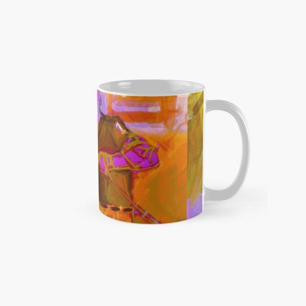 polo player orange Classic Mug