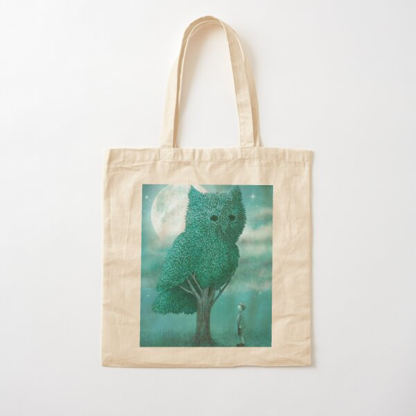 The Night Gardener - Cover Cotton Tote Bag