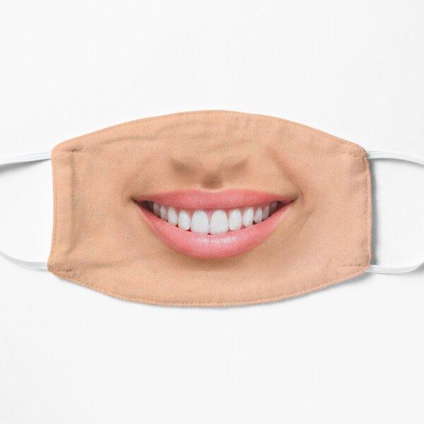 Big wide smile Flat Mask