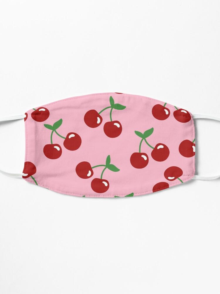 Alternate view of Cherry Print  Mask