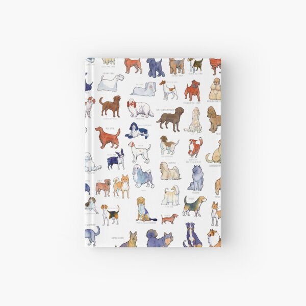 Every AKC Dog Breed Hardcover Journal
