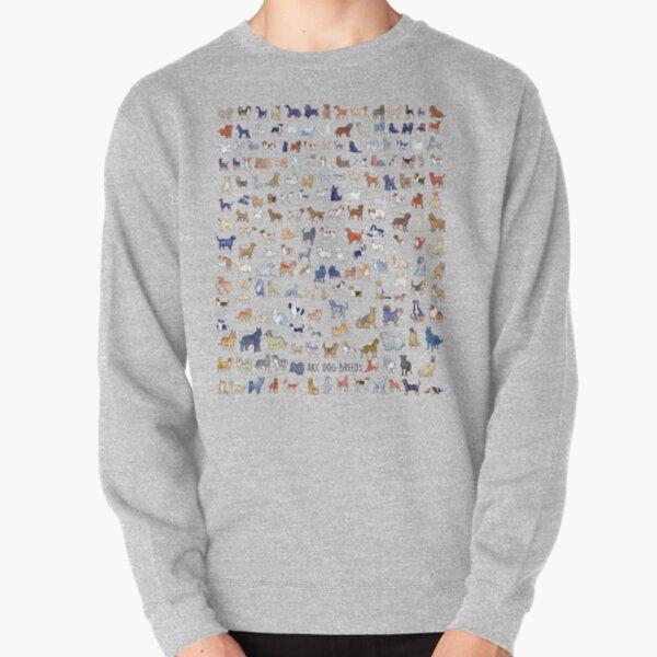 Every AKC Dog Breed Pullover Sweatshirt