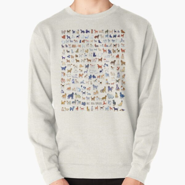 Every AKC Dog Breed Pullover Sweatshirt