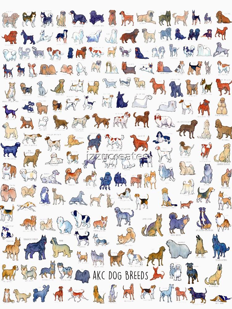 Every AKC Dog Breed by izzycreates