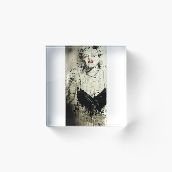 Marilyn Acrylic Block
